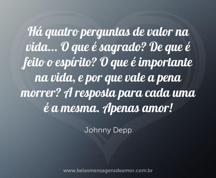 Apenas amor!