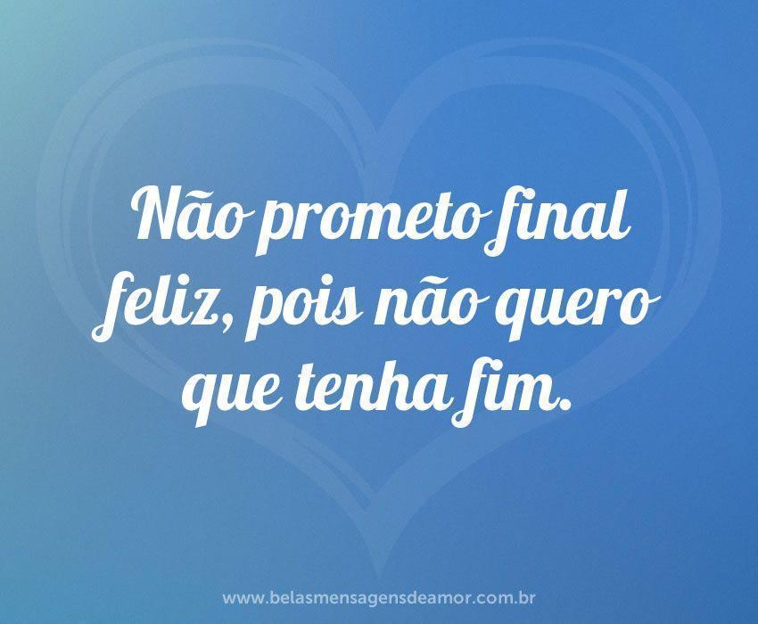 Não prometo final feliz